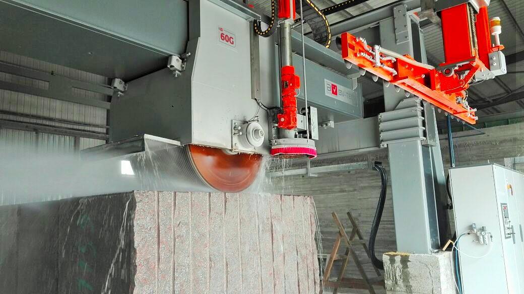 Granite Block Cutter Tbv 1300 1600 60 G